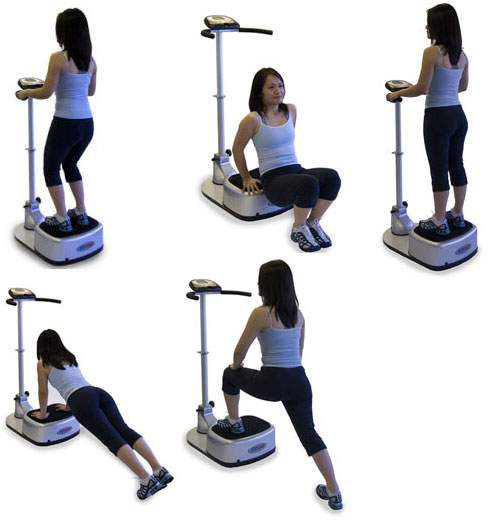 work out machine that vibrates
